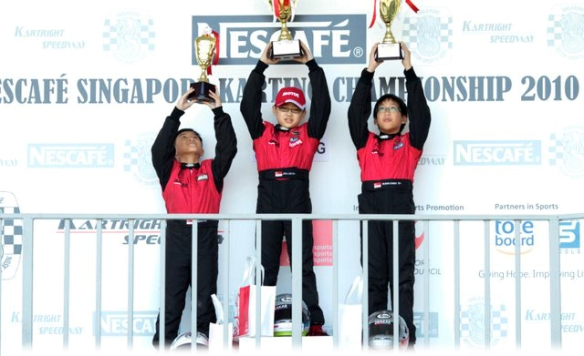 Drakar Racing Team Cadet Champions