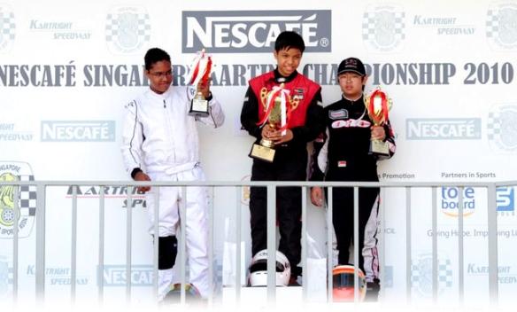Drakar Racing Team Junior Champions