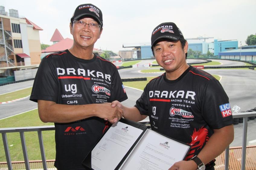 Kartmaster Drakar Racing Team Merger