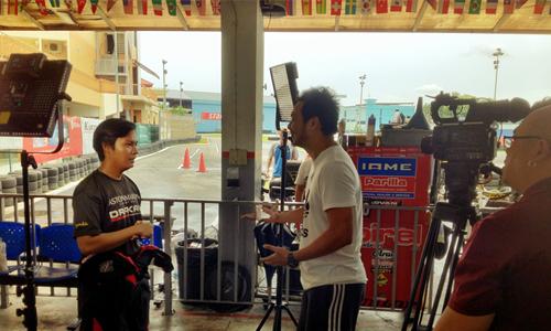Opai in MediaCorp TV 12 Suria's New Program—Gila Sukan