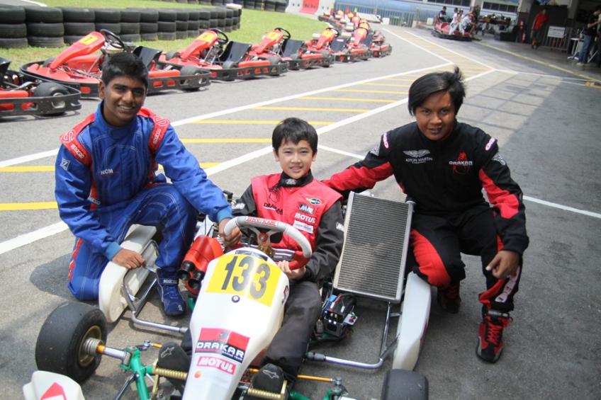 Kartmaster Drakar Drivers—Santos Bala, Jon Lee & Opai Naufal