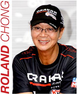 Team Principal Roland Chong