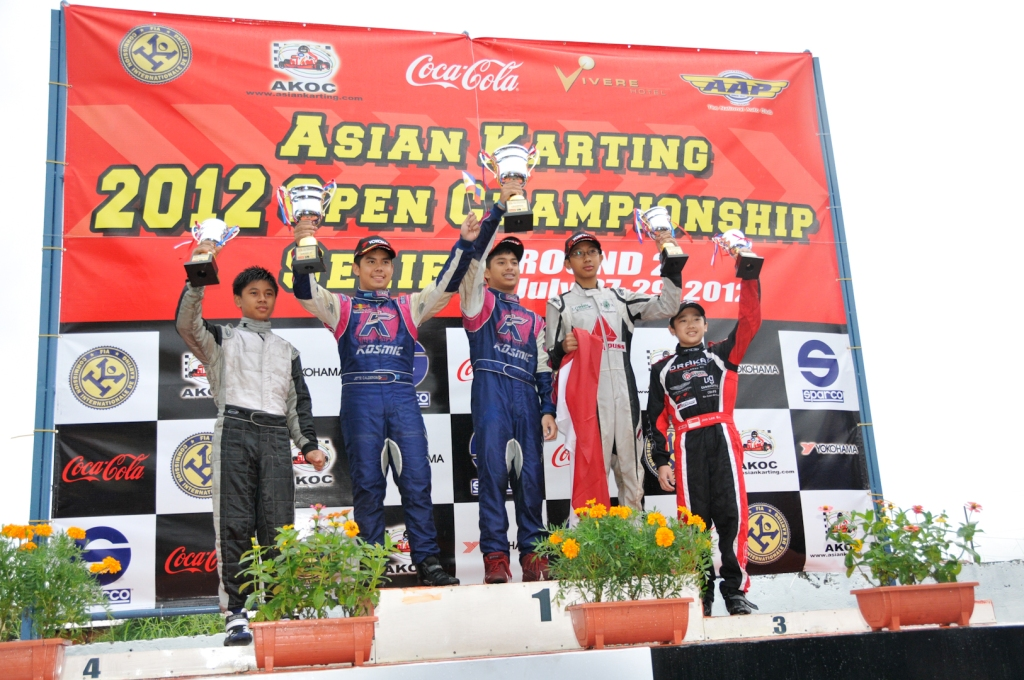 2012 AKOC Rd 2 Formula 125 Junior Winners