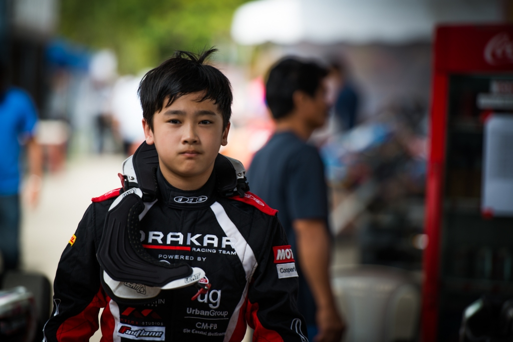 Kartmaster Drakar Junior Driver—Jon Lee