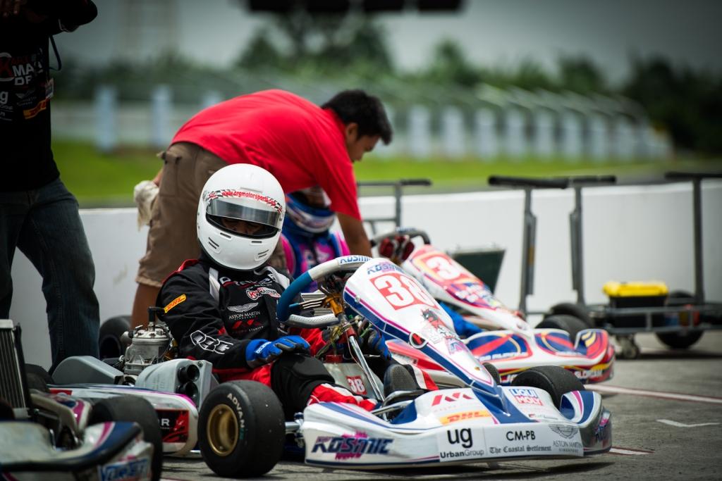 Kartmaster Drakar Junior Driver—Santos Bala