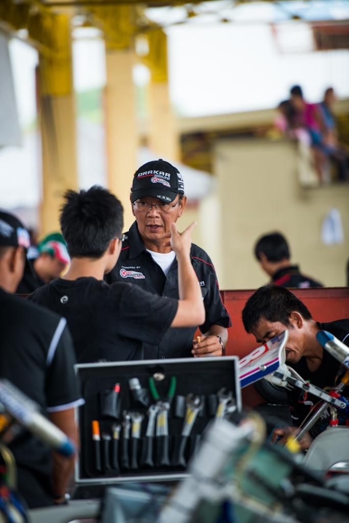 Kartmaster Drakar Co-Team Principal— Mr. Roland Chong