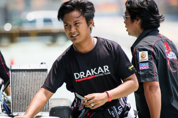 Kartmaster Drakar Senior Driver Opai Naufal