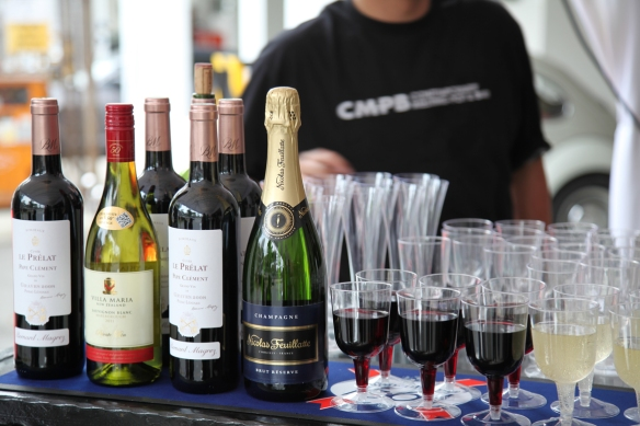Wine and Champagne from
