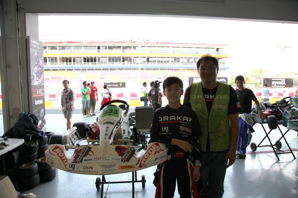 Kartmaster Drakar Junior Driver Jon Lee