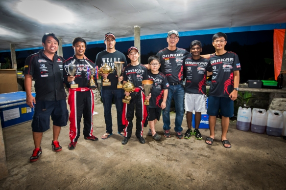 Kartmaster Drakar Racing Team with Zahir Ali