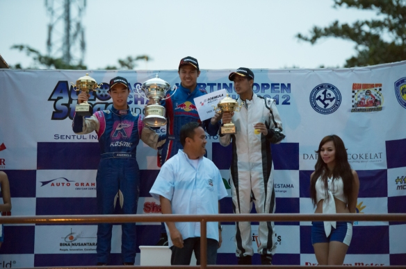 Overall Winners of 2012 AKOC Formula 125 Senior Category
